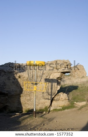 Folf - Disc Golf - stock photo