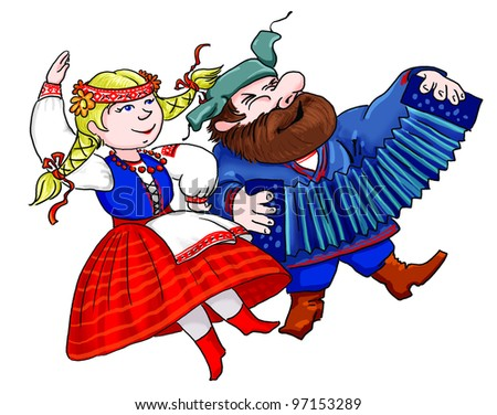 Russian Folk Dance Stock Images, Royalty-Free Images & Vectors ...