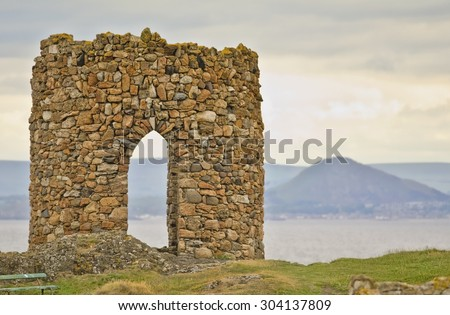 Folly, Fife, Scotland - stock photo