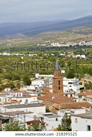 Fondon, small village in the Alpujarras