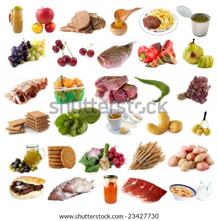 Food and Drinks - stock photo
