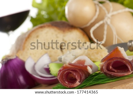 food background - stock photo