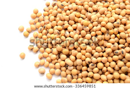 food background of soybean,