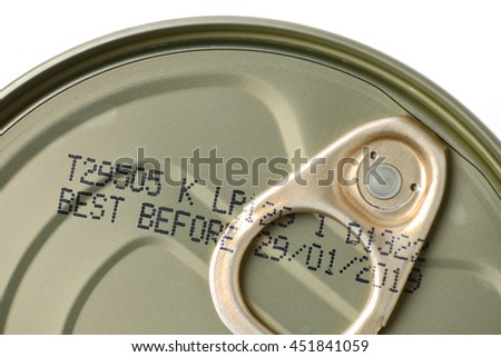 food can with expiry date