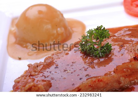 food chicken for eat  - stock photo