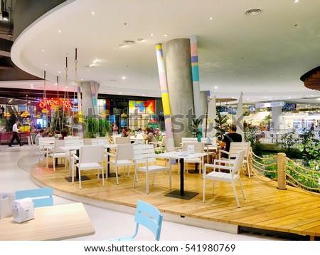 Tesco Prague Food Court