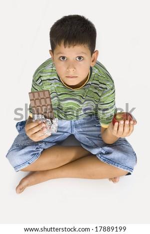 Food Decision - stock photo
