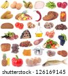Food for all tastes - stock photo