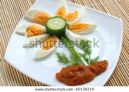 Food for children - stock photo