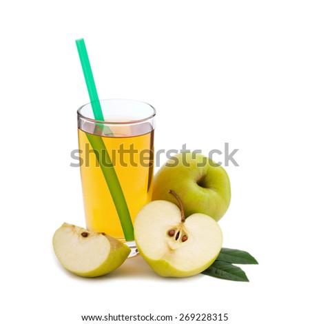 Food fruit isolated - stock photo