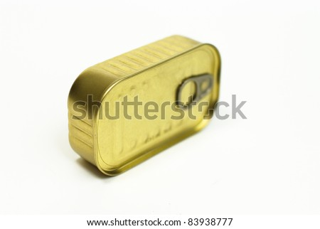 Food in cans - stock photo