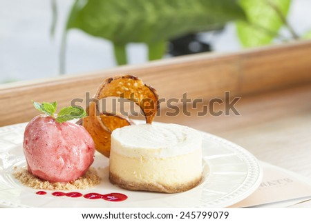 food in restaurant - stock photo