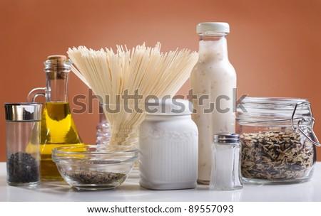 Food ingredients - stock photo