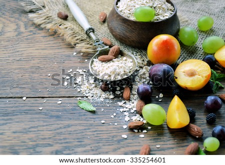 food ingredients farm production  - stock photo
