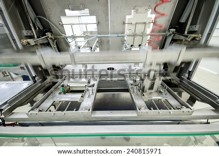 food packing and sorting industry equipment