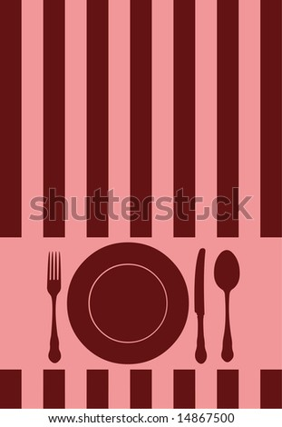 Food / Restaurant / Menu / Card design - stock photo