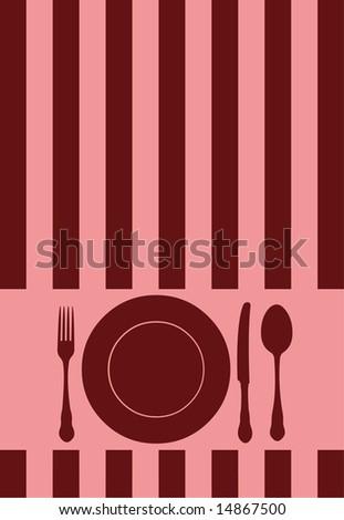 Food / Restaurant / Menu / Card design - stock photo