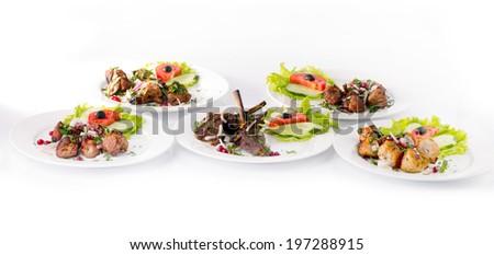 food specialities - stock photo