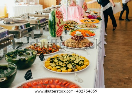 food wedding cater