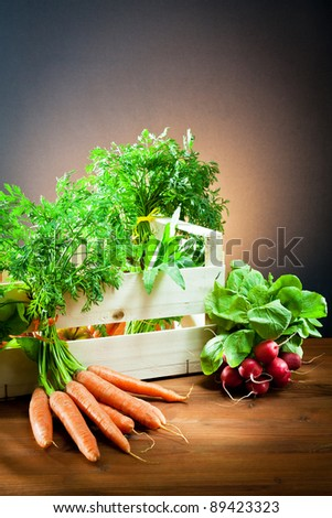 foods grown in the country - stock photo