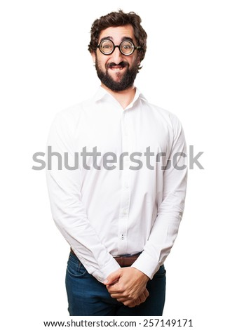 fool proud man - stock photo