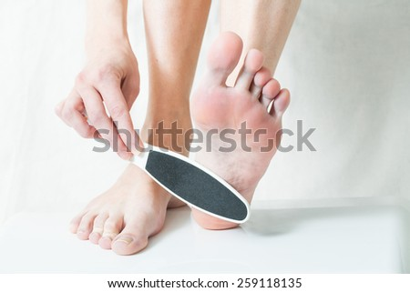 foot care - stock photo