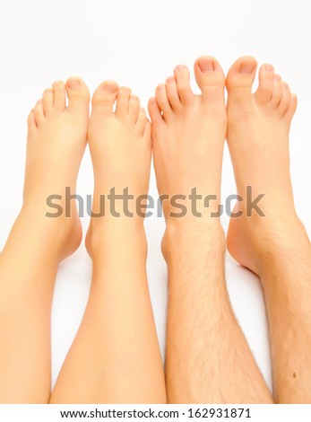 foot male - stock photo