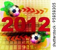 Football 2012 - stock photo
