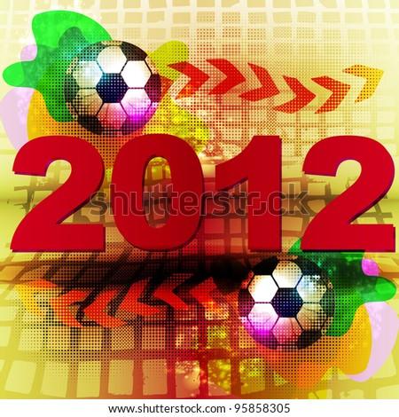 Football 2012 - stock photo