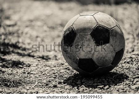 football ball - stock photo
