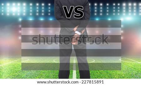 football display,statistics  - stock photo