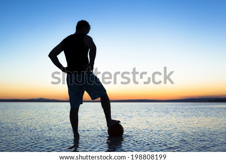 Football dream - stock photo