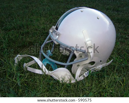 Football Helmet - stock photo