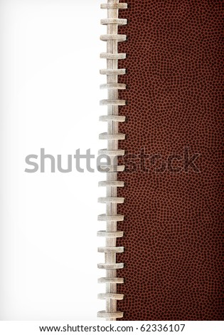 Football Laces Layout Extra Large Size