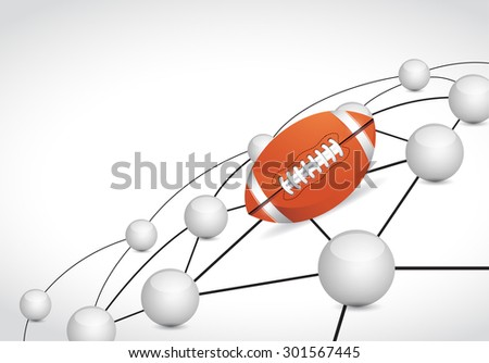 football link sphere network connection concept illustration design graphic background - stock photo