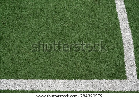 Football or soccer field, background for web site or mobile devices