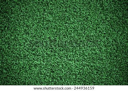 Football or soccer grass field - stock photo