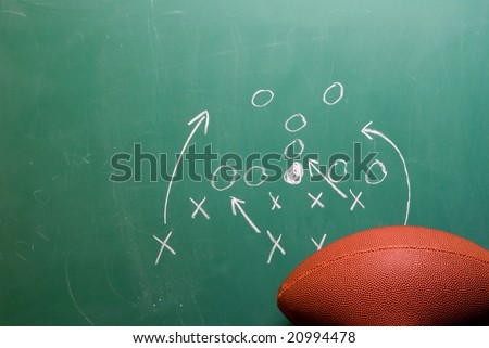Football Play - stock photo