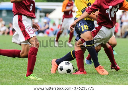 football soccer - stock photo
