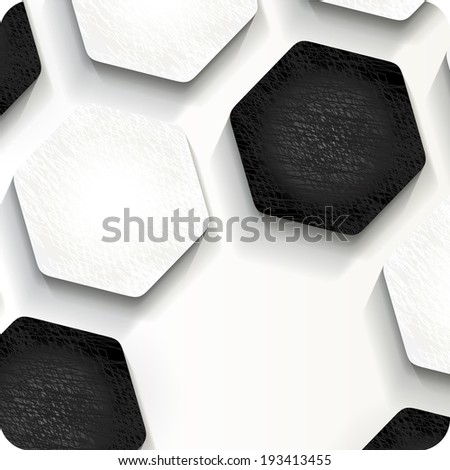 football (soccer) background, cover - stock photo