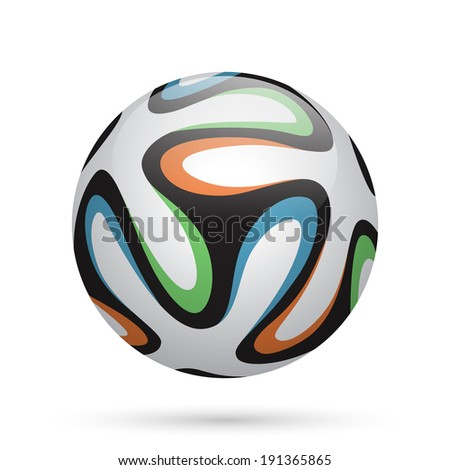 Football / soccer ball. - stock photo