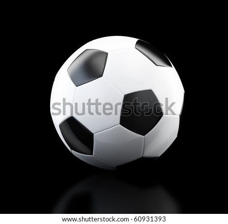 football, soccer ball - stock photo