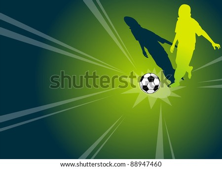Football / Soccer Player - stock photo