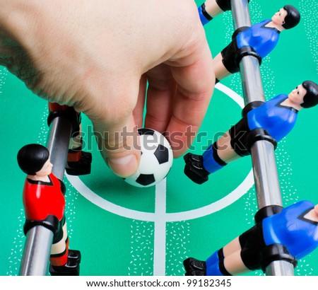 football table game for children - stock photo