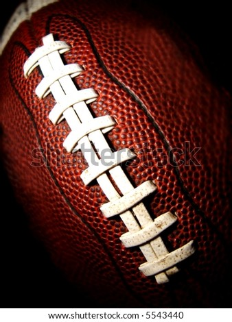 football vertical - stock photo