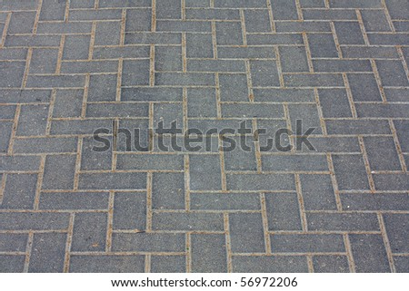 footpath - stock photo