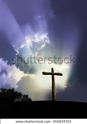 for God so loved the world - stock photo
