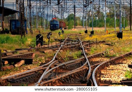 For Railways - stock photo