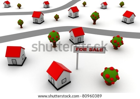 FOR SALE new concept - stock photo