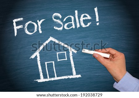 For Sale - Real Estate Concept - stock photo